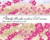 树枝花朵图案PS笔刷素材
