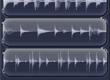 音频波形图、声波图形PS笔刷素材下载
