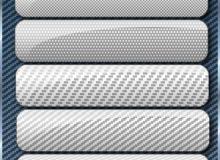 5种碳纤维编织纹理PS填充素材下载
