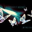 光影蝴蝶图案PS蝴蝶笔刷