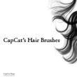 女性头发、发丝效果Photoshop笔刷素材下载