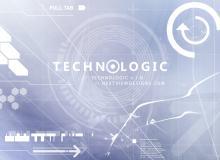 前沿科技装饰元素、信息化蜂窝图形PS笔刷下载