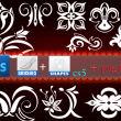欧式经典印花图案饰品ps笔刷素材免费下载(另含csh文件)