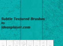 粗糙纹理材质效果PS笔刷下载