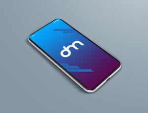 免费的 iPhone X 样机模板PSD素材下载