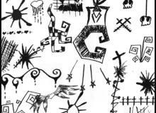 破坏天使PS非主流童趣涂鸦笔刷