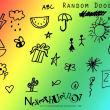 可爱的幼稚涂鸦PS美图笔刷