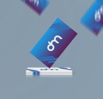 企业名片展示PSD样机模板素材