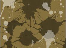 油漆水墨滴溅纹理、溅射污渍效果PS笔刷下载