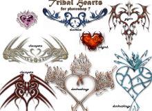 邪恶的纹身、刺青图案PS笔刷下载