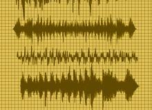4种高清声波图形文件PS笔刷下载