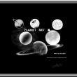 月球、月亮图形素材PS笔刷下载
