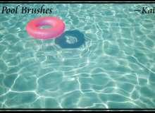 游泳池图片素材PS笔刷下载