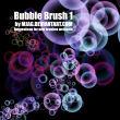 半透明泡泡的泡泡、水泡、气泡图像PS笔刷下载
