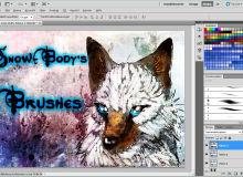 高级插画艺术创作画笔Photoshop笔刷素材下载