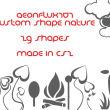 自然云朵、植物花纹图案Photoshop自定义形状素材 .csh 下载