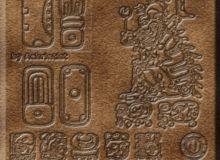 玛雅图案、神庙印记PS笔刷下载