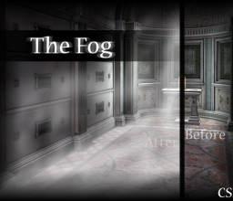 雾气、大雾、浓雾、发雾天气效果PS笔刷下载