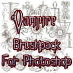 各种吸血鬼徽章图案PS笔刷下载