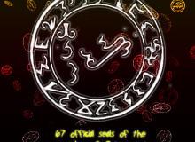神秘宗教、魔法符文PS图案笔刷