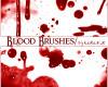 真实血液、血浆图案PS笔刷素材