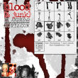 血腥的眼泪、血泪痕迹、血液痕迹PS笔刷下载