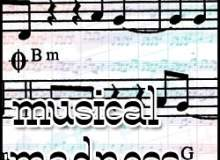 音符、五线谱背景装饰PS笔刷素材