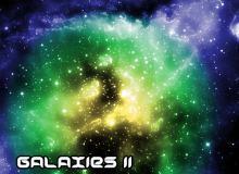 宇宙星云、星系图案、太空背景PS笔刷素材