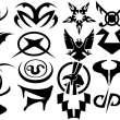星际之门雅法纹身图案Photoshop刺青笔刷素材下载