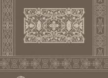罗马风格的花纹、印花装饰性边框PS笔刷下载