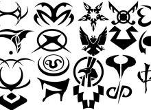 星际之门之雅法纹身PS笔刷素材