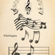 音符、音乐元素装饰PS笔刷下载