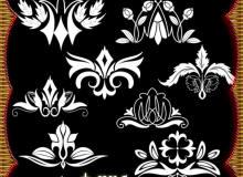 经典贵族风格的印花图案PS花纹笔刷