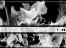 烈焰、火焰燃烧、火苗纹理PS笔刷下载