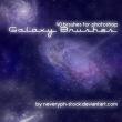 浩瀚银河系、深空背景Photoshop宇宙笔刷素材