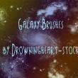 浩瀚宇宙星系Photoshop太空背景笔刷下载免费下载