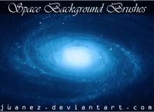 漂亮的银河系中心背景Photoshop星云背景图片素材