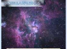 灿烂宇宙星空背景Photoshop银河系笔刷素材