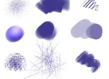Photoshop自定义画笔(.tpl预设工具素材)