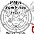 魔法阵、五星芒阵法、巫术符号PS笔刷下载