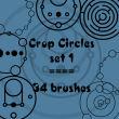 奇异圆圈组合图案PS笔刷下载