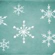 6种雪花图案、手绘雪花花纹印记PS笔刷素材