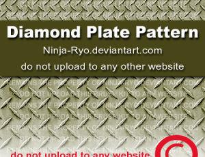 钢板花纹纹理图案、铁板材质纹理PS笔刷下载(pat文件格式)