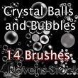 14种水中泡泡、气泡、水泡Photoshop泡泡笔刷
