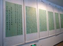 博物馆字画背景PS照片素材(免费商用,超大分辨率)