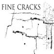 水泥墙面裂缝、混凝土裂纹纹理PS笔刷素材