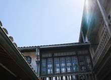 老房子的天空照片素材(免费商用照片下载,6240X4160 像素)
