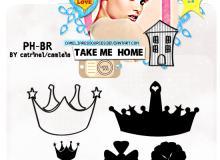 皇冠、王冠图案PS笔刷素材