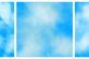 蔚蓝天空纹理背景PS笔刷素材