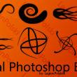 11种线条组合纹饰花纹PS笔刷
